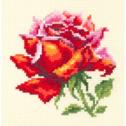 Cross Stitch Kit Red Rose art. 150-003