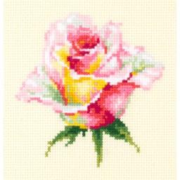 Cross Stitch Kit Blooming Rose art. 150-004