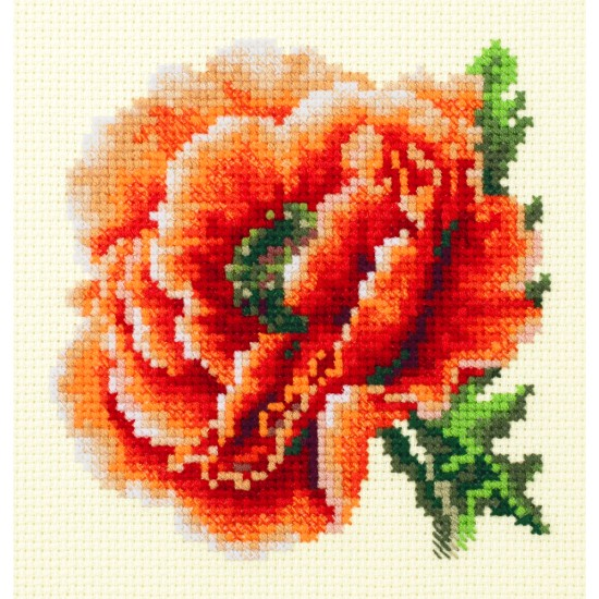 Cross Stitch Kit Poppy art. 150-012