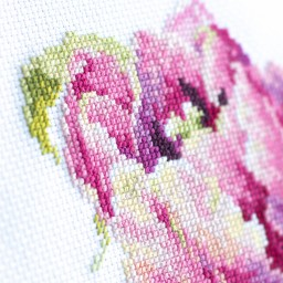 Cross Stitch Kit Pink Tulip art. 150-013