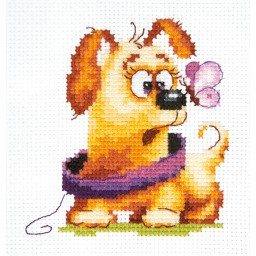 Cross Stitch Kit Who are you? art. 16-24