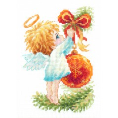 Cross Stitch Kit Christmas Angel art. 160-001