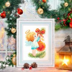 Cross Stitch Kit Christmas Angel art. 160-001