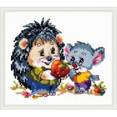 Cross Stitch Kit Cooperate art. 18-53