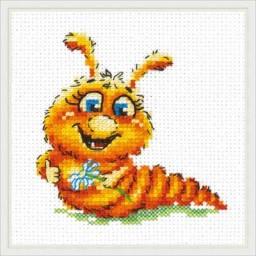 Cross Stitch Kit I'll be a butterfly art. 18-70