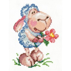 Cross Stitch Kit Be happy art. 18-76