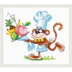 Cross Stitch Kit Chef art. 19-03