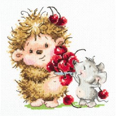 Cross Stitch Kit Cheers art. 19-10