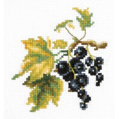 Cross stitch kit Black currant art. 31-03