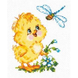 Cross Stitch Kit Mutual interest art. 20-08