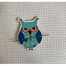 Needle Minder Blue Owl