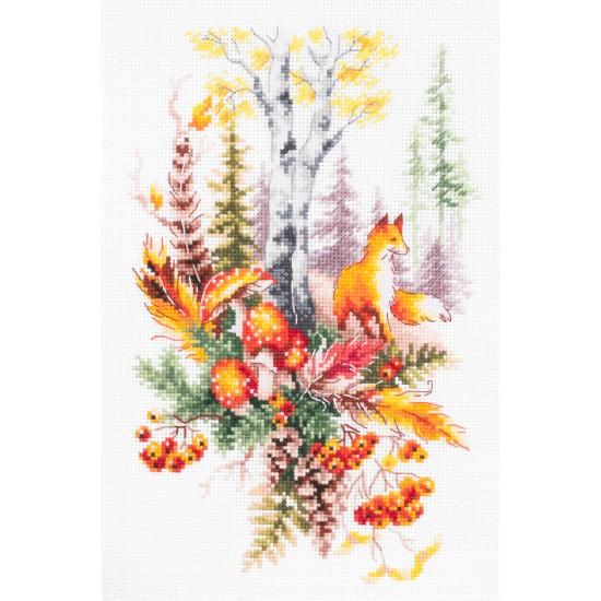 Cross Stitch Kit Autumn Forest Spirit art. 250-698