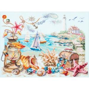 Cross Stitch Kit Seaside Breeze art. 250-707