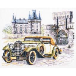 Cross Stitch Kit Retro style. Classic art. 250-744