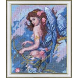 Cross Stitch Kit Angel with bow art. 269
