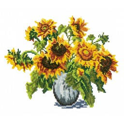 Cross stitch kit Sunflowers art. 40-07