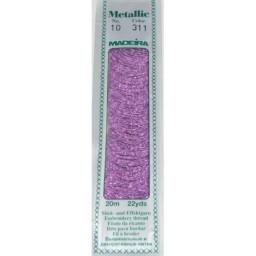 MADEIRA Madeira Metallic 20m art.10 Col. 311 Azulea Purple