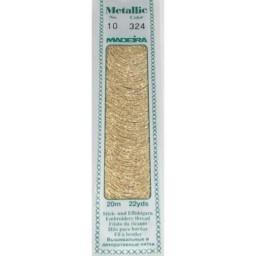MADEIRA Madeira Metallic 20m art.10 Col. 324 Gold Dust
