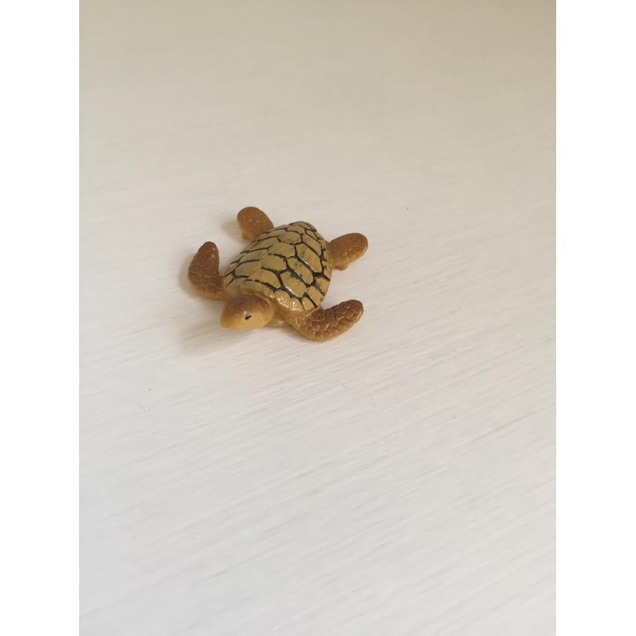 1 Pc Mini Sea Turtle Model Resin Figurines Fairy Garden Miniatures