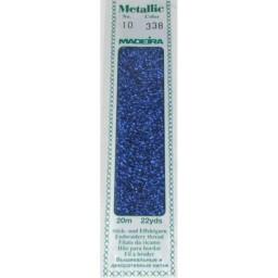 MADEIRA Madeira Metallic 20m art.10 Col. 338 Lapis