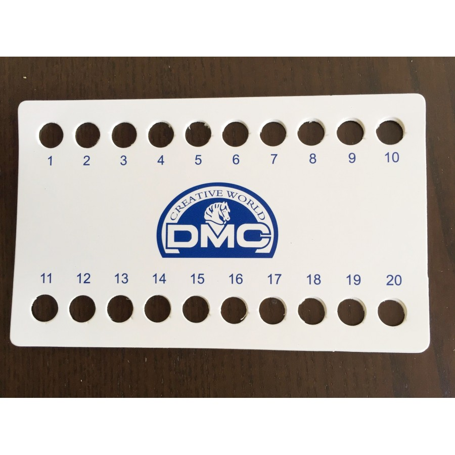 10 pcs DMC threads organizer 30 holes with numbers