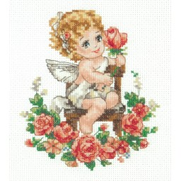 Cross Stitch Kit Angel art. 35-18