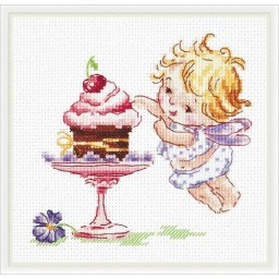 Cross Stitch Kit Love sweets art. 35-22