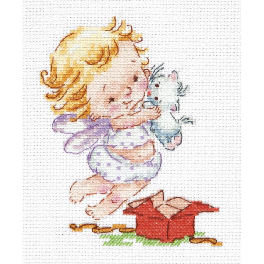 87-02 Cross stitch kit Health art