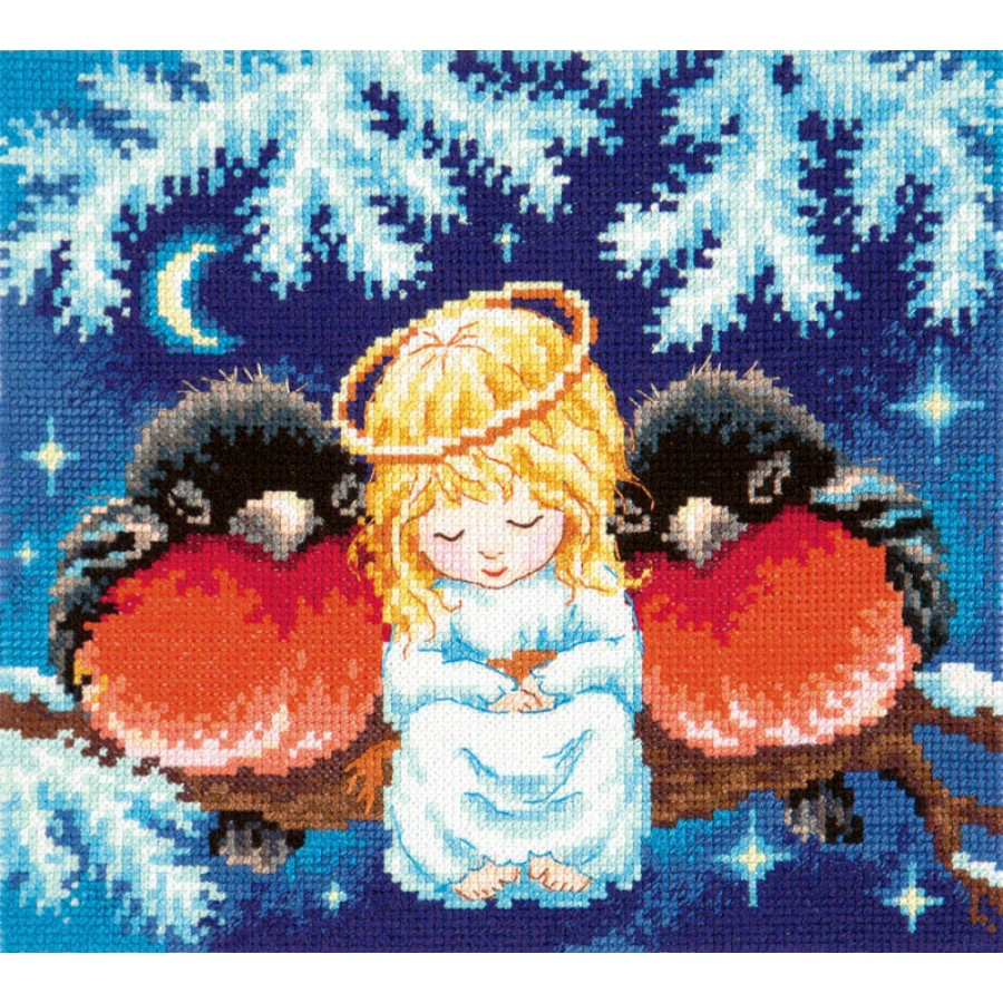 cross stitch kit christmas tale art 35 25 - Christmas Tale