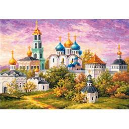 Cross Stitch Kit Sergiev Posad. The Trinity-Sergius Lavra art. 75-06