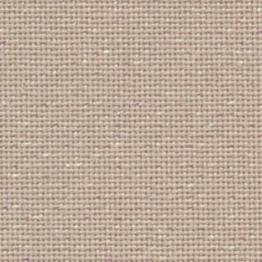 1 Pc Beige with Golden Metallic 100% Cotton Aida 14 ct 50 x 50 cm