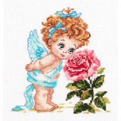 Cross Stitch Kit Angel of our Happiness art. 35-09
