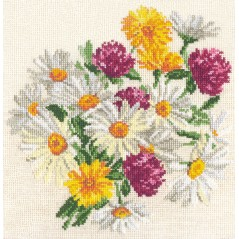 Cross stitch kit Chamomile art. 40-17