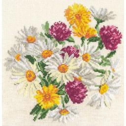 Cross stitch kit Chamomile art. 40-17