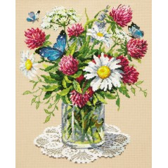 Cross Stitch Kit Bouquet art. 40-77