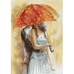 Cross Stitch Kit Under Umbrella 2  B555