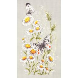 Cross Stitch Kit In a chamomile glade art. 42-12