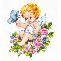 Cross Stitch Kit Garden of Eden art. 35-19
