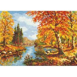 Cross Stitch Kit Golden Autumn art. 45-02