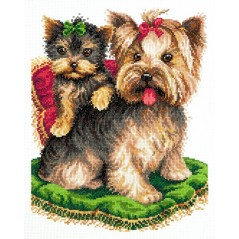 Cross Stitch Kit Beauties (dogs) art. 59-17