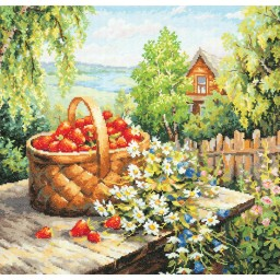 Cross Stitch Kit Summer house art. 47-06