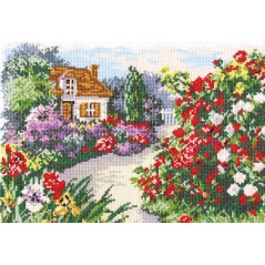 Cross stitch kit Blooming garden art. 52-03