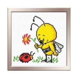 Cross Stitch Kit LITTLE BEE art. 526 Pre-order