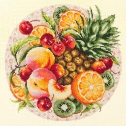 Cross Stitch Kit Exotic fruits art. 54-04