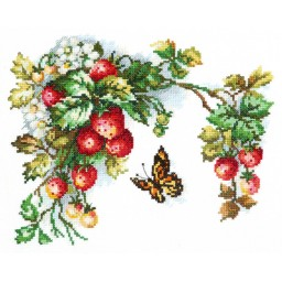 Cross Stitch Kit Sweet fruits art. 55-10