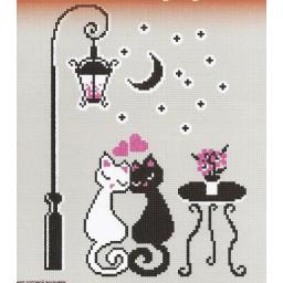 Cross stitch kit Cat's love art. 445