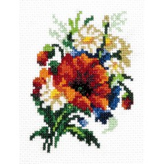 Cross Stitch Kit Bouquet art. 28-05