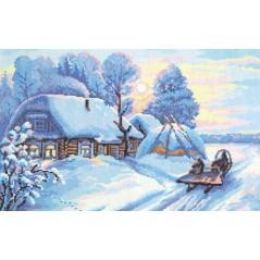 Cross Stitch Kit Frost and sun art. 43-04
