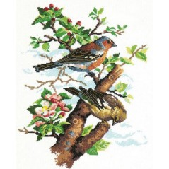 Cross Stitch Kit Birds art. 64-04
