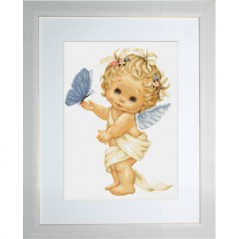 Gobelin kit Butterfly and Angel Petit point G368